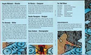 Locked In (2006) CD Programme 3