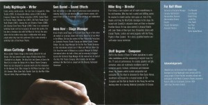 Blowback CD Programme - 3