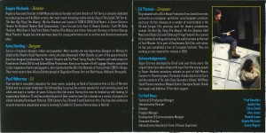 Begin/End CD Programme 3