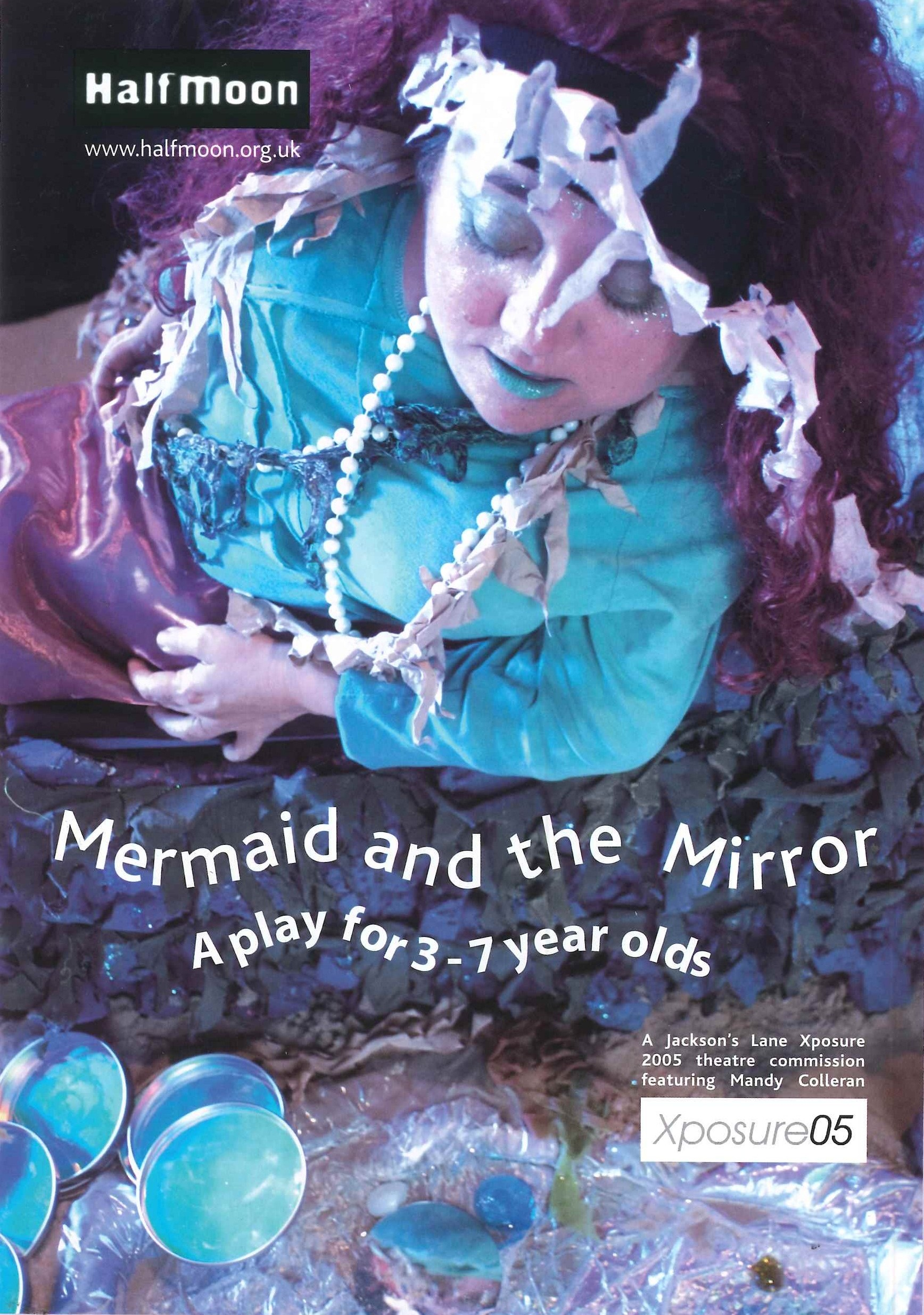 Mermaid and the Mirror - Poster