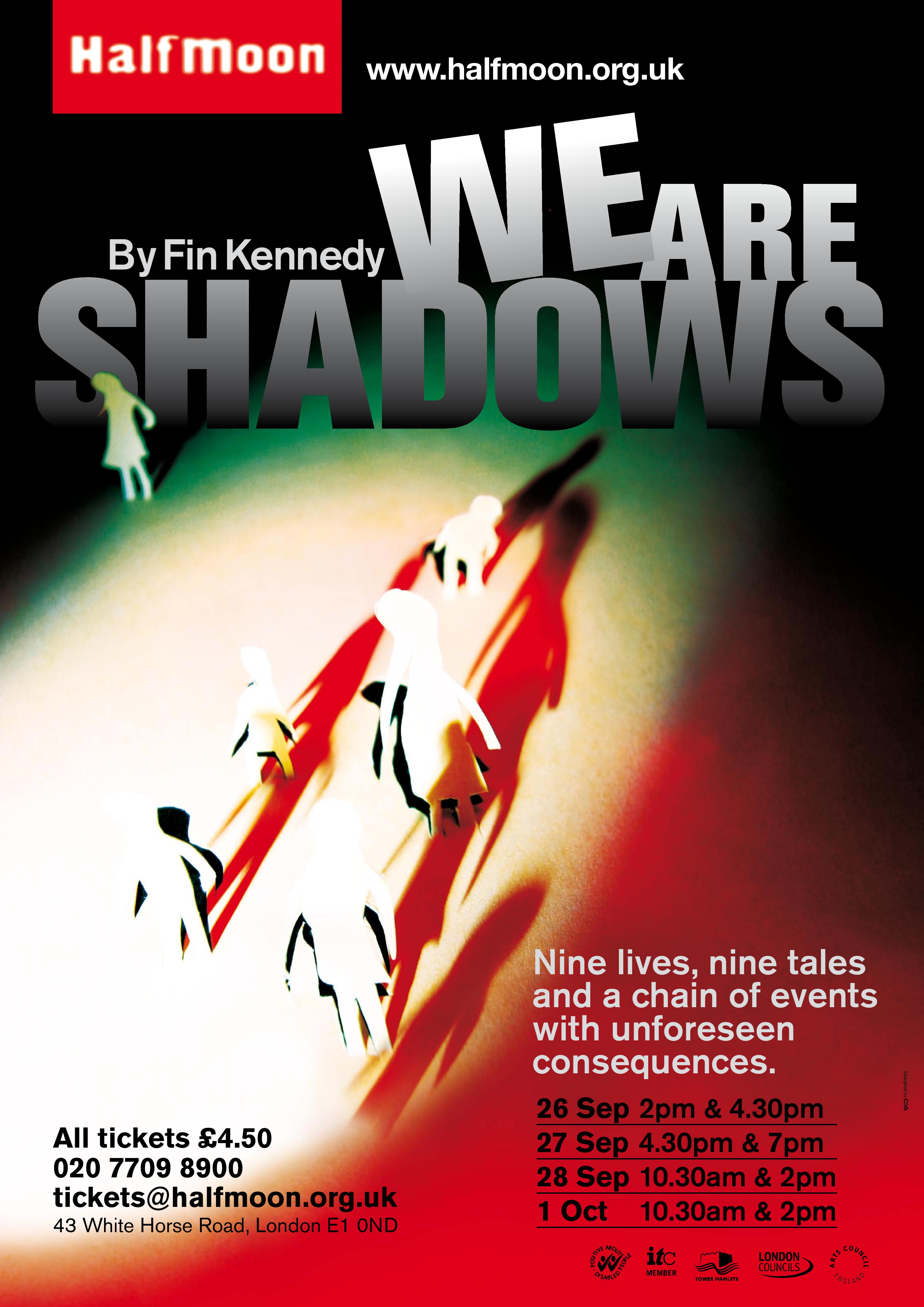 We Are Shadows Flyer Image