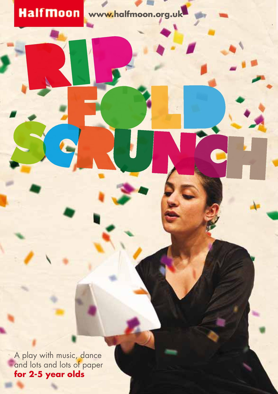 Rip, Fold, Scrunch Flyer - Front