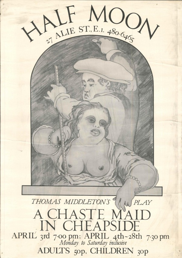 A Chaste Maid in Cheapside Poster