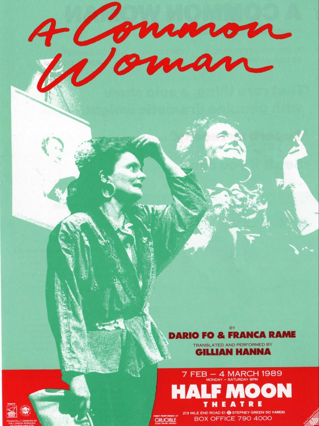 A Common Woman - Poster