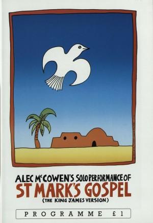 Alex McCowen's Solo Performance of St Mark's Gospel programme (1)