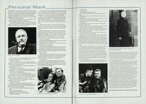 Alex McCowen's Solo Performance of St Mark's Gospel programme (5)