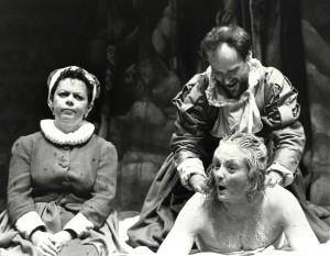Angela Curran, Bob Mason, Gillian Hanna 'Elizabeth'. Photo by Michael Le Poer Trench