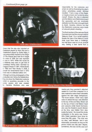 Article in 'Spaceship Away' (2)