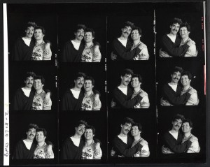 As Is promo contact sheet with David Fielder and George Costigan