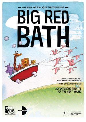 Big Red Bath poster