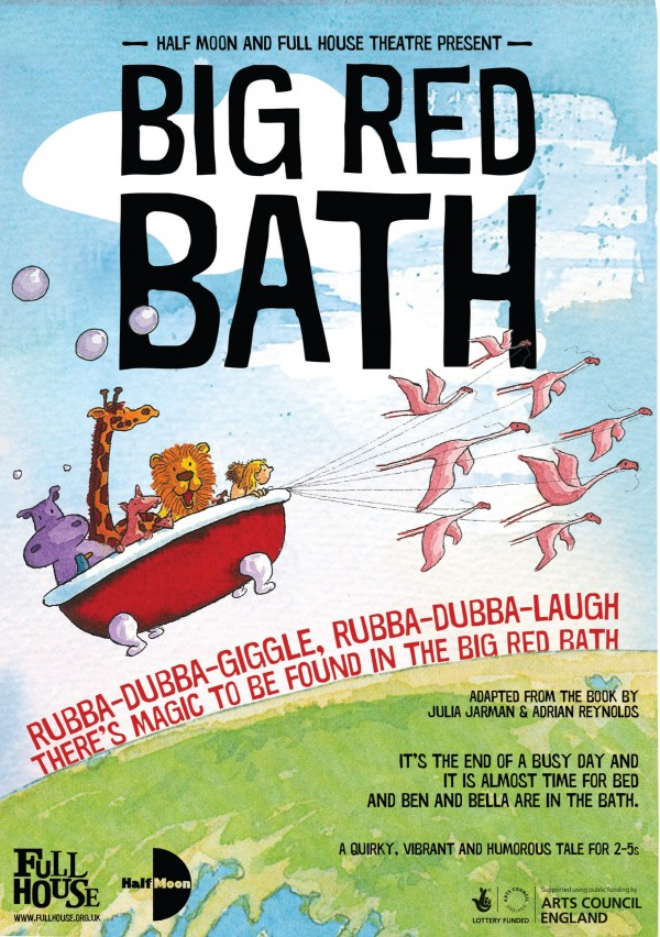 Big Red Bath Flyer (Front)
