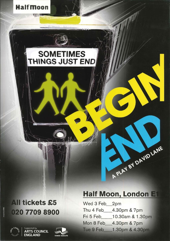 Begin/End - Poster