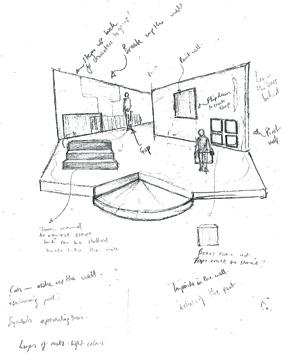 Begin End - design sketch 1