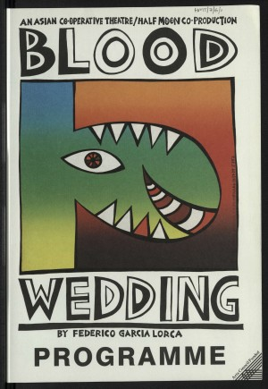 Blood Wedding Programme (1)