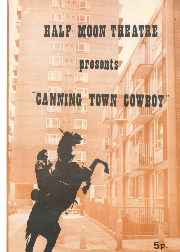 Canning Town Cowboy - Programme (1)