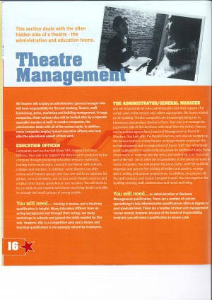 Careers in Theatre - Getting Ahead Brochure (15)