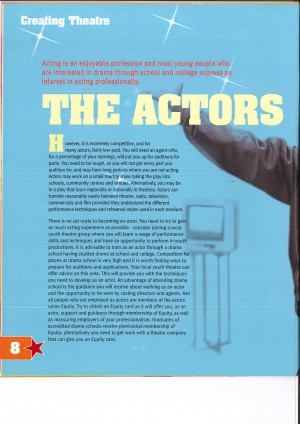Careers in Theatre - Getting Ahead Brochure (7)