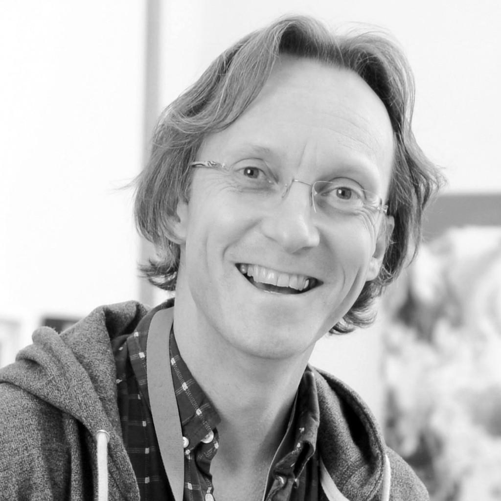 Chris Elwell - black and white, square