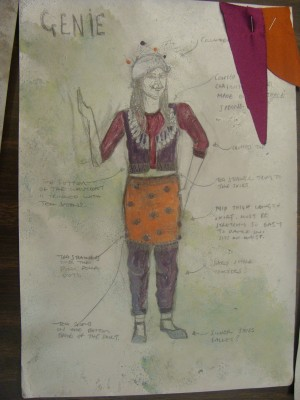 Moon and Genie, Costume Design (2)