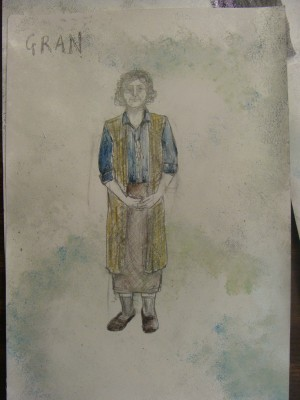 Moon and Genie, Costume Design (5)