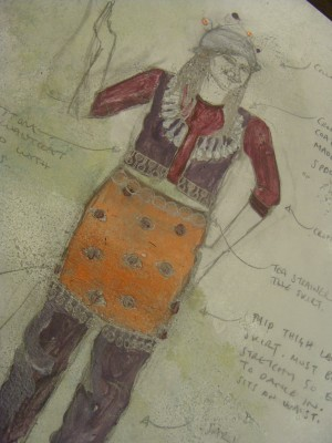 Moon and Genie, Costume Design (9)