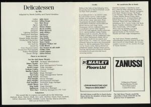 Delicatessen Programme (2)