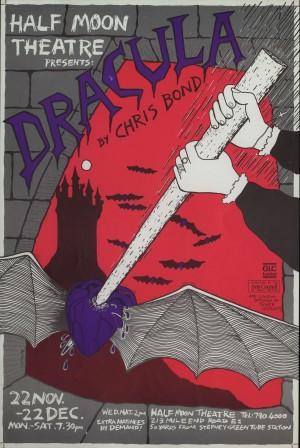 Dracula Poster (V.1 1984)