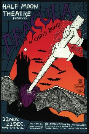 Dracula Poster (V.2 1984)