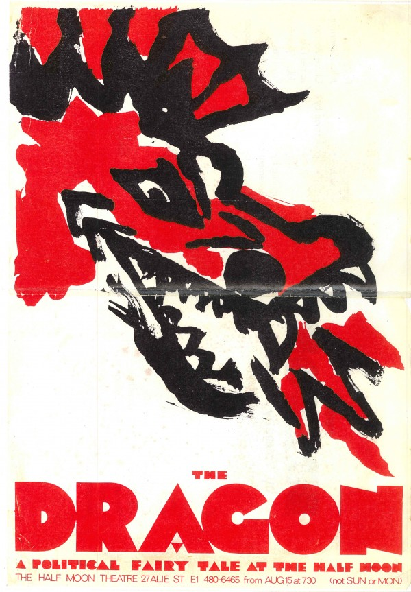 Dragon, The - poster and programme cover