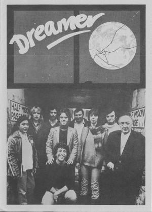 Dreamer - Programme (Front)