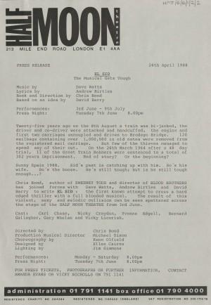 El Sid Press Release 1988