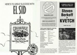 El Sid Programme (2)