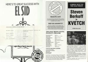 El Sid Programme (3)