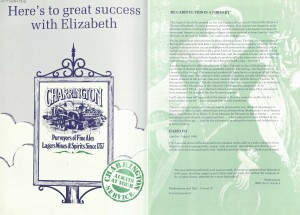 Elizabeth programme (2)