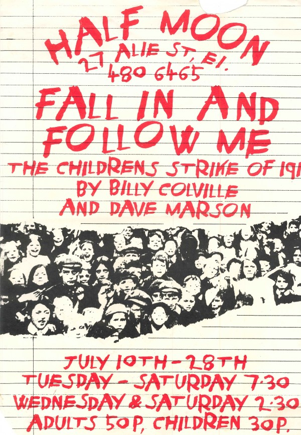 Fall In And Follow Me Poster (from Steve Harris)