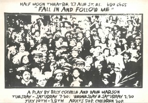 Fall in and Follow me - poster