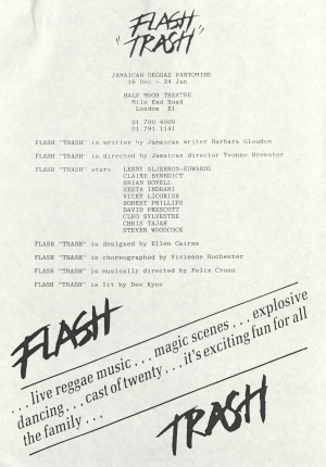 Flash Trash cast and crew info