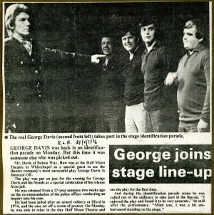 George Davis is Innocent, Ok. Review - E.L.A 1976