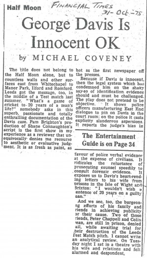 Michael Coveney, Financial Times, 31 Oct 1975