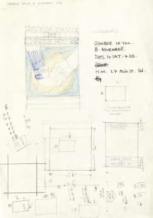 George Davis is Innocent OK design sketches (2)
