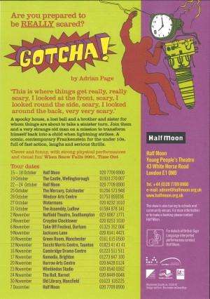 Gotcha! Flyer (2)