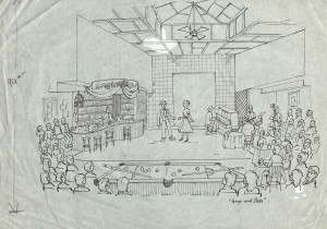 Production drawing by Mike Bearwish