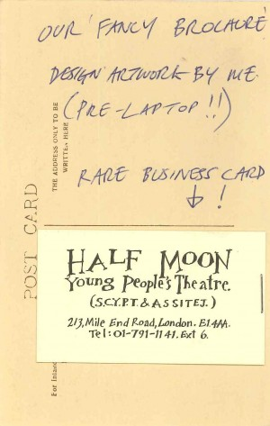 Half Moon YPT Business Card