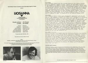 Hosanna Programme (2)