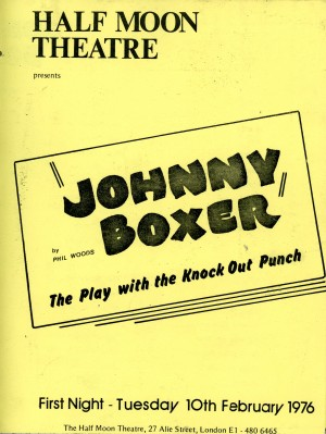 Johnny Boxer Program - Front