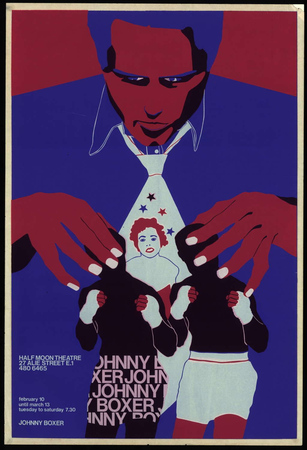 Johnny Boxer poster