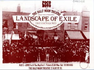 Landscape of Exile - Flyer