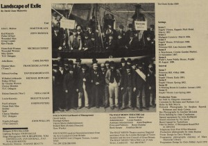 Landscape of Exile programme (3)