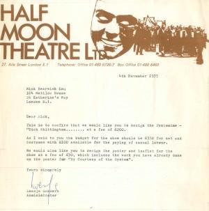 Letter of Offer Bearwish - 1977