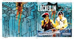 Locked In (2008) CD Programme (1)